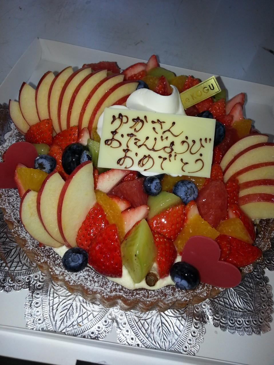 ゆかさんケーキ